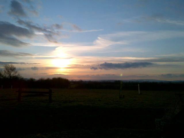 Sunset over Sun Rising
