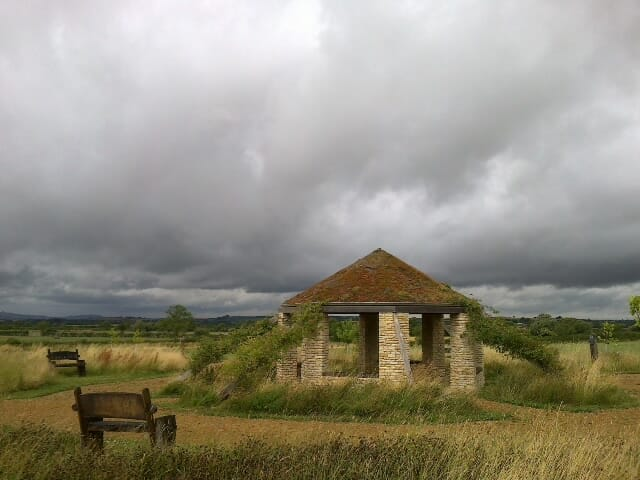 Stormclouds over the Roundhouse