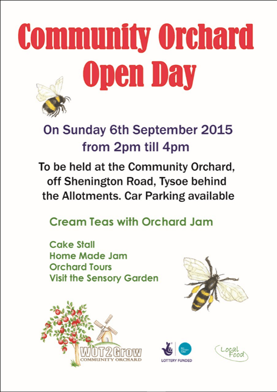 Community Orchard Poster