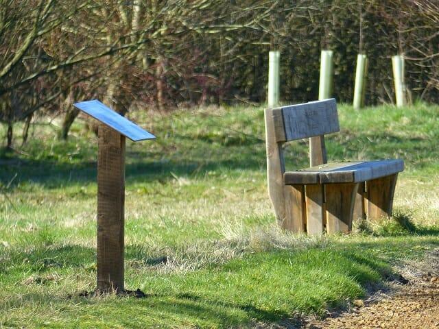 Habitat Interpretation Board : Birdfeeders