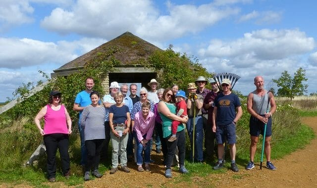 The Volunteers for the Woodland Burial Areas, August 2017