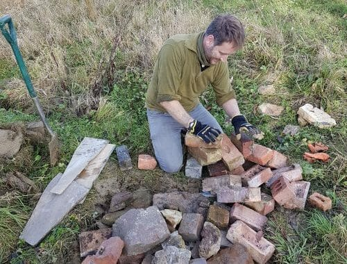 Rich Building the Hibernaculum