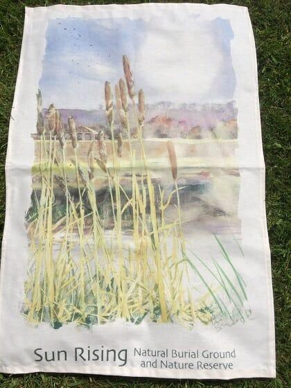 The Sun Rising Tea Towel (autumn/winter)