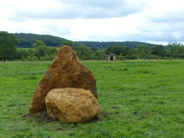 Tyr's Stone at Sun Rising Natural Burial Ground and Nature Reserve
