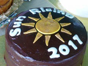 Homemade Sun Rising Cake