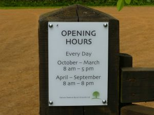 Opening Hours at Sun Rising