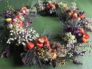 Wreath by Alscot Gardens
